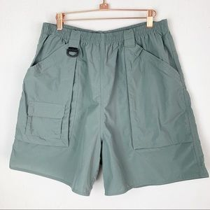 Lands' End Hiking Camping Cargo Shorts